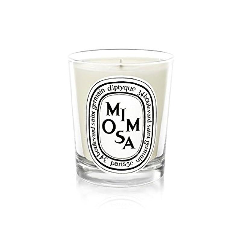 頬ブロッサムリスナーDiptyque Candle Mimosa / Mimosa 190g (Pack of 2) - Diptyqueキャンドルミモザ/ミモザ190グラム (x2) [並行輸入品]