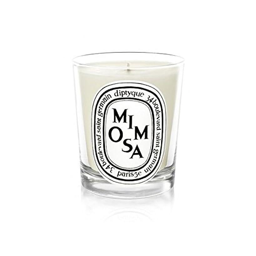 対象パントリーメイエラDiptyque Candle Mimosa / Mimosa 190g (Pack of 2) - Diptyqueキャンドルミモザ/ミモザ190グラム (x2) [並行輸入品]