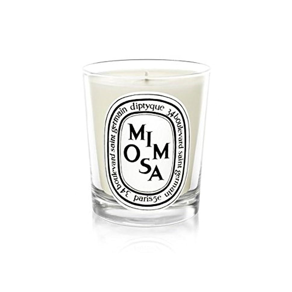 症状大胆なピッチDiptyque Candle Mimosa / Mimosa 190g (Pack of 2) - Diptyqueキャンドルミモザ/ミモザ190グラム (x2) [並行輸入品]