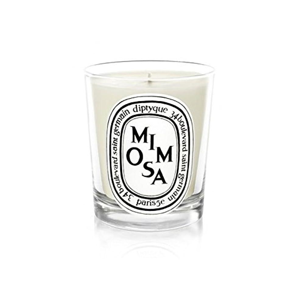 すべき貴重な比喩Diptyqueキャンドルミモザ/ミモザ190グラム - Diptyque Candle Mimosa / Mimosa 190g (Diptyque) [並行輸入品]