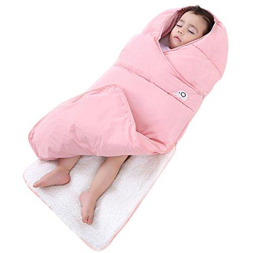 ベビー 寝袋 スリーパー おくるみ 春秋冬用 柔らかい肌触り 封筒型 ベビーカーに固定可能 新生児か...