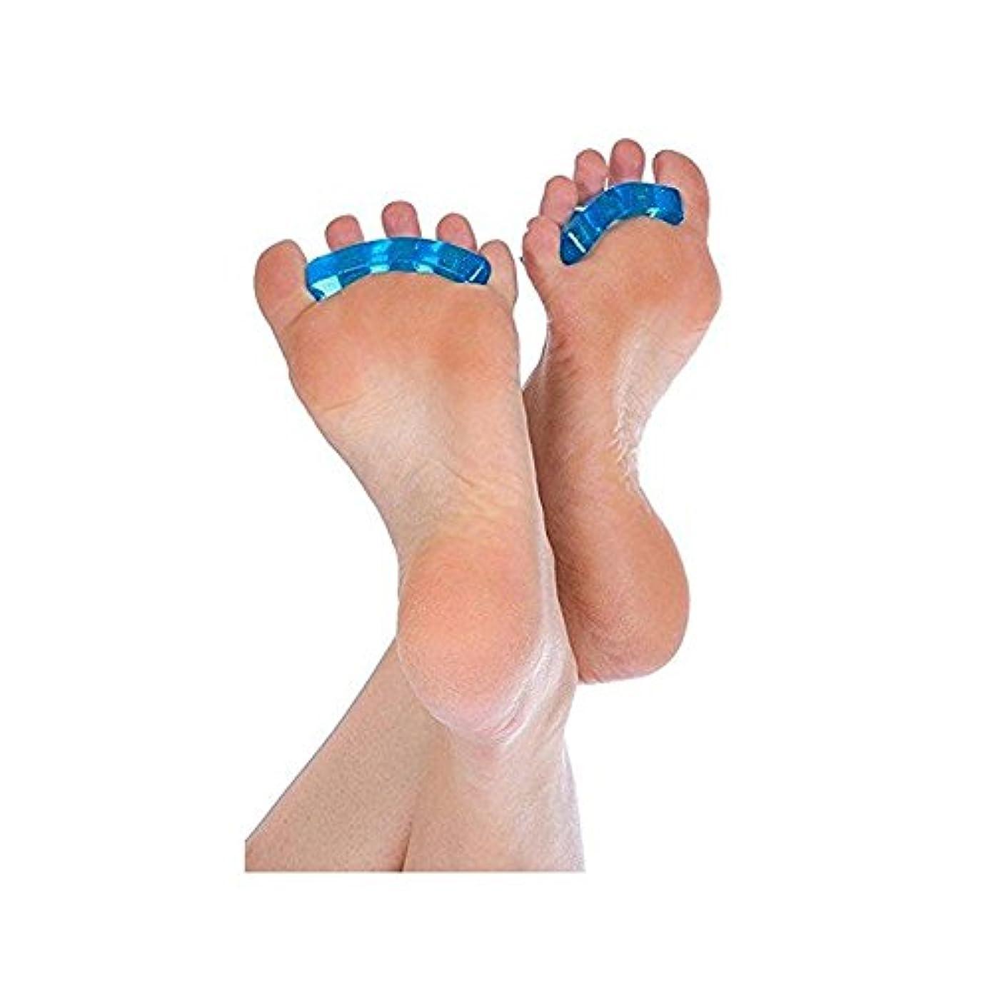 クリスチャン大量ホスト爪デバイダSEBS指の爪セパレータパッド分離パッドネイル特別な分離ネイルツール6ペア