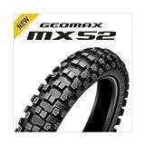 DUNLOP(ダンロップ)バイクタイヤ GEOMAX MX52 リア 70/100-10 41J チューブタイプ(WT) 305729 二輪 オートバイ用