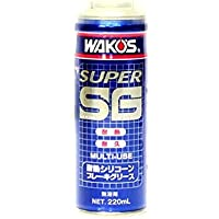 ワコーズ SSG スーパーシリコーングリース エアゾール 耐熱シリコーンブレーキグリース 220ml A281 [HTRC2.1]