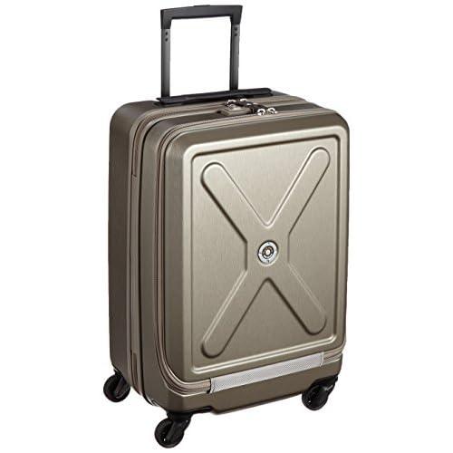 [プラスワン] PLUS ONE 軽量スーツケースアドヴァンス クアドラ 40L 3.0kg 1泊~3泊対応 機内持込み可能サイズTOTAL115cm 8168-50 Compound (コンパウンド)