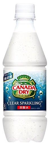 コカ・コーラ カナダドライ クリアスパークリング 無糖炭酸水...