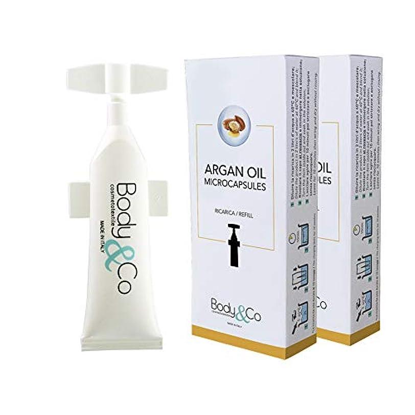変化憂鬱なぼんやりしたBody&Co Cosmetc Refill 10 ml Argan Oil (ARGAN OIL 10 ML, 2 REFILLS 10 ML)