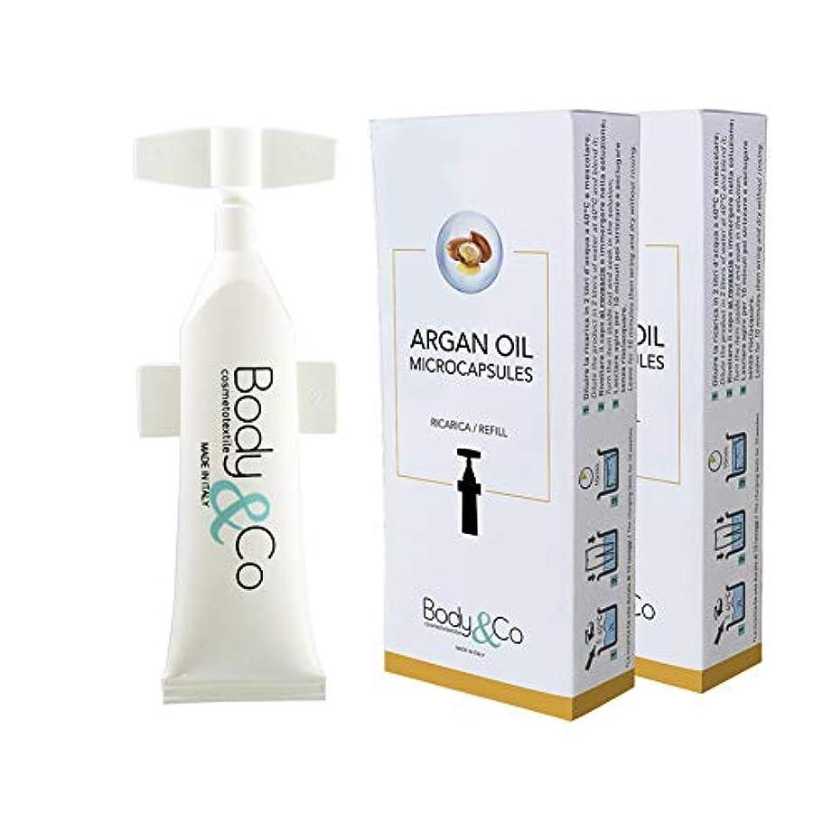 動かない意図する同一性Body&Co Cosmetc Refill 10 ml Argan Oil (ARGAN OIL 10 ML, 2 REFILLS 10 ML)
