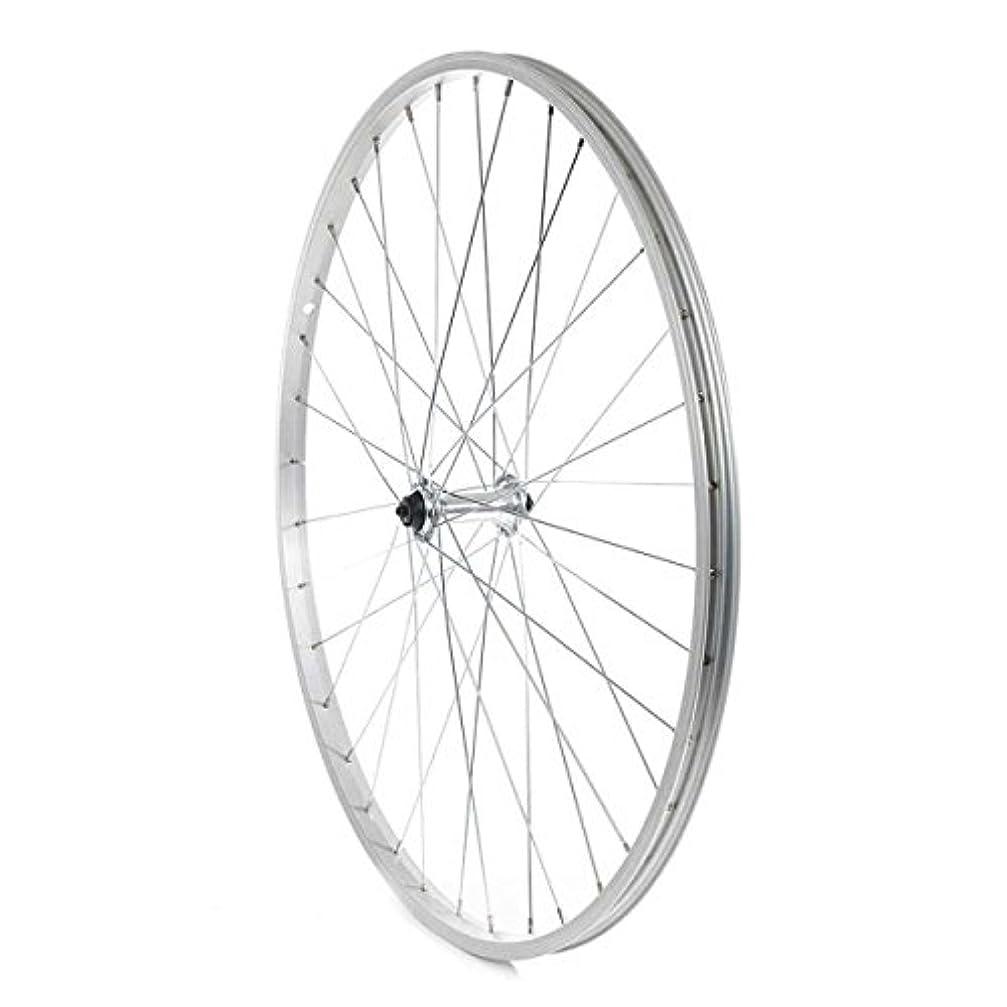 生産性欠如にやにやThe Wheel Shop Alex X101 36 Steel Spoke QR Front Bicycle Wheel (Silver - 700c) by The Wheel Shop