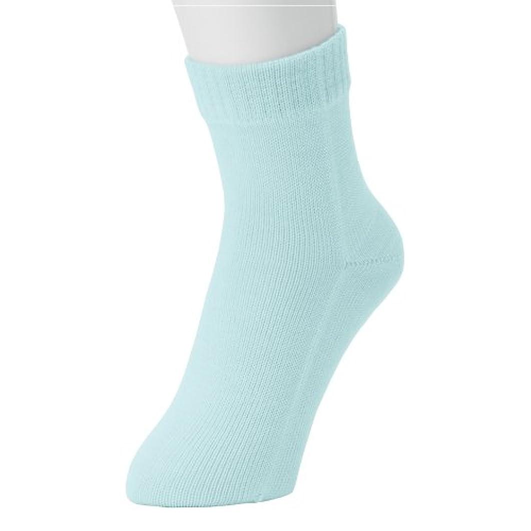 広々としたセーターセンチメンタル冷えとり?重ね履きに最適!本物シルクの 「くつしたの下」 Outer ソックス (紳士用, ミント)