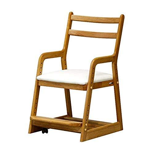 ISSEIKI 学習チェア LIFE DESK CHAIR (NA+WH) 木製家具 おしゃれ