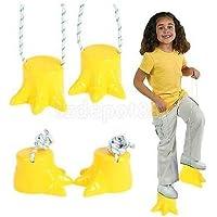 ペアDinosaur Feet Stiltおもちゃ子供Preschool練習アウトドアゲーム