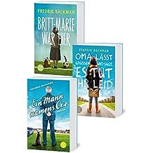 Ove, Oma und Britt-Marie: 3 Fredrik-Backman-Bestseller in einem Bundle (German Edition)