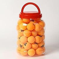 D-drempating 卓球 公式球 レベル 60個 60P ケース セット ピンポン球 40mm スリースター ☆☆☆ プラスチック 材質 試合 練習 トレーニング ボール