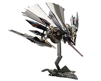 斑鳩 飛鉄塊 銀鶏[黒] 全長約155mm 1/144スケール プラモデル