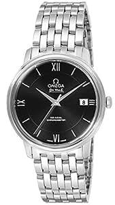 [オメガ]OMEGA 腕時計 デ・ビル ブラック文字盤 コーアクシャル自動巻 デイト 424.10.37.20.01.001 メンズ 【並行輸入品】
