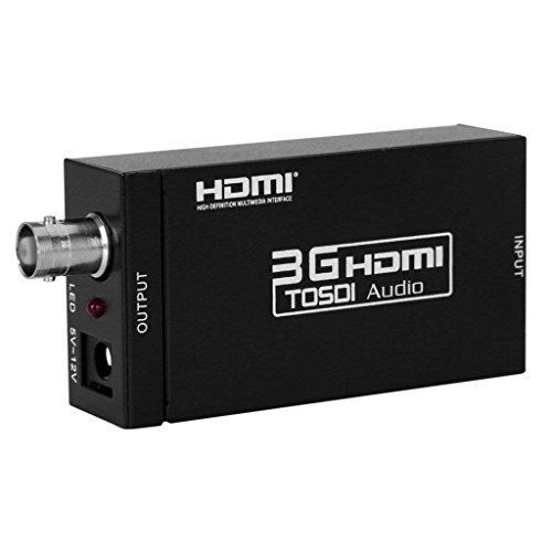Eleview-JP 3G HDMI to SDI コンバーター hdmi sdi 変換器 HDMI to 3G-SDI HD-SDI SD-SDI 1080P ESD保護機能搭載 HDMI to SDI