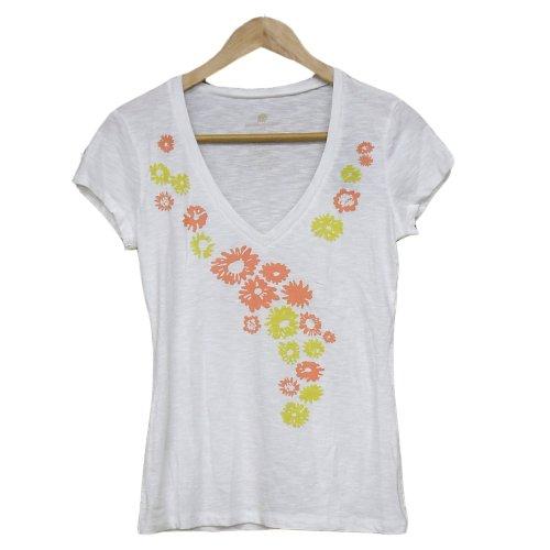 Tシャツ 半袖 レディース ホワイト 620012 バナナ・リパブリック