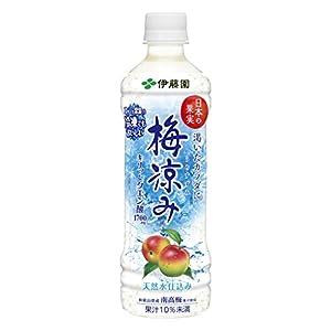 伊藤園 日本の果実 梅涼み (冷凍兼用ボトル) 500g×24本