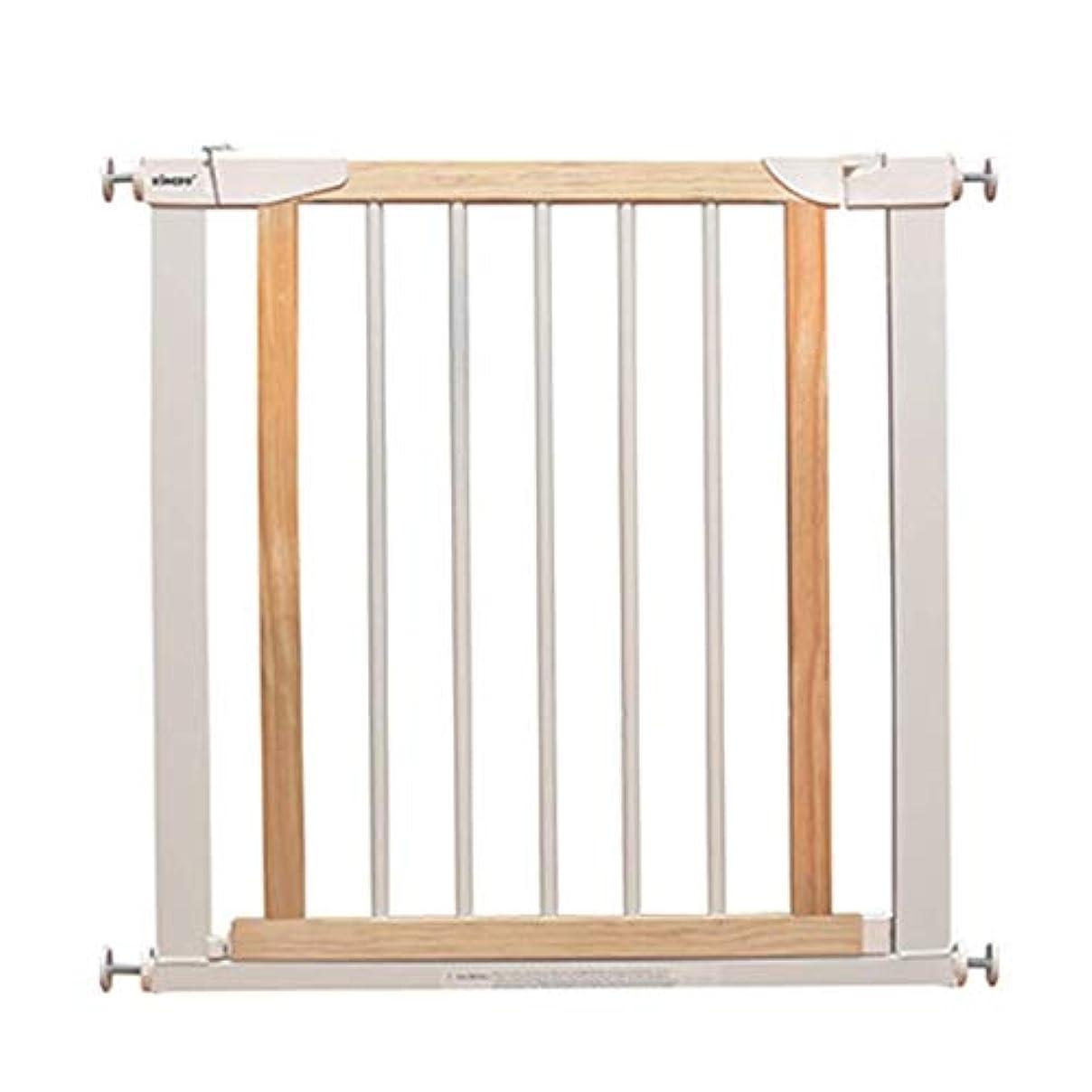 予想する強い寝てるベビーフェンス 赤ちゃん延長安全のための白い木製の安全ゲート第一圧力フィット引き込み式ペットドア階段ゲート ペットゲート (Size : 96-103cm)