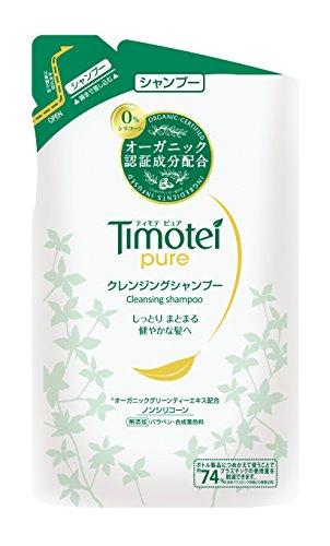 ティモテ ピュア Timotei ピュア クレンジングシャンプー シャンプー/詰替用 385g