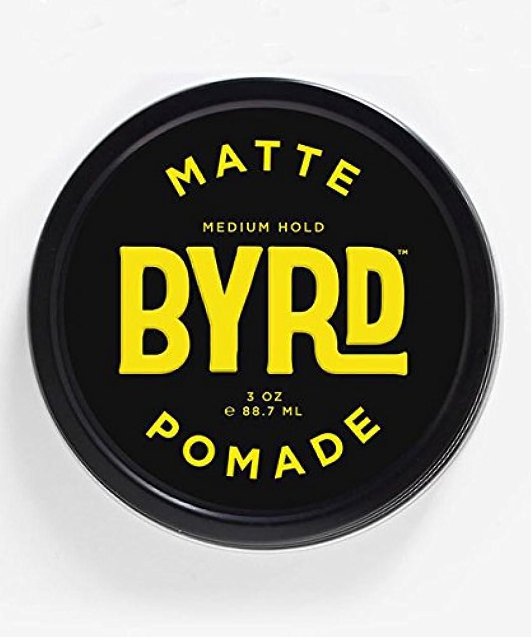 エンゲージメント塗抹元のBYRD(バード) マットポマード 85g