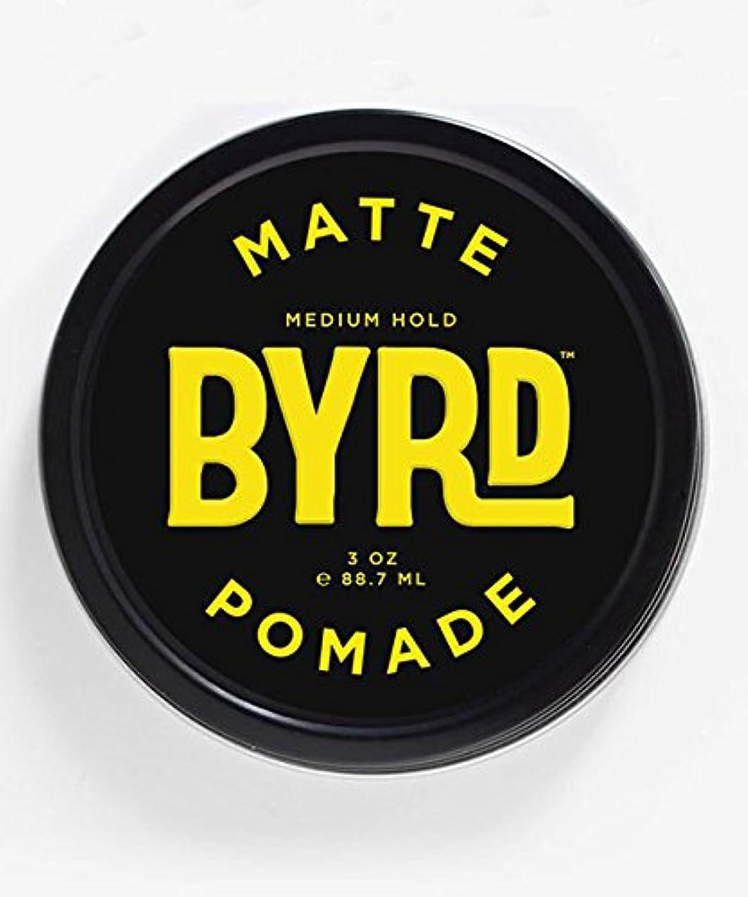 惨めなクロス体現するBYRD(バード) マットポマード 85g