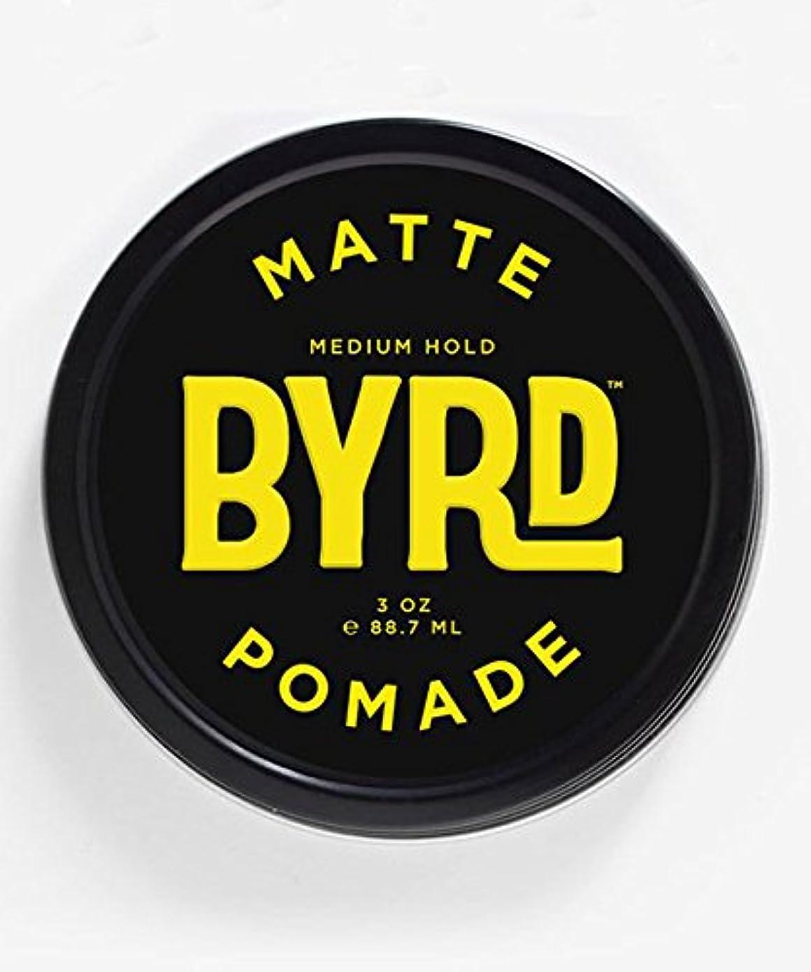 ニコチン羊飼い望まないBYRD(バード) マットポマード 85g