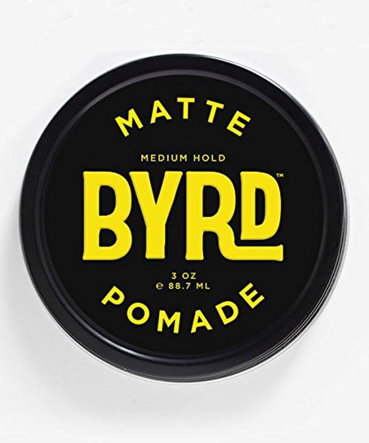 汚れたバック注ぎますBYRD(バード) マットポマード 85g
