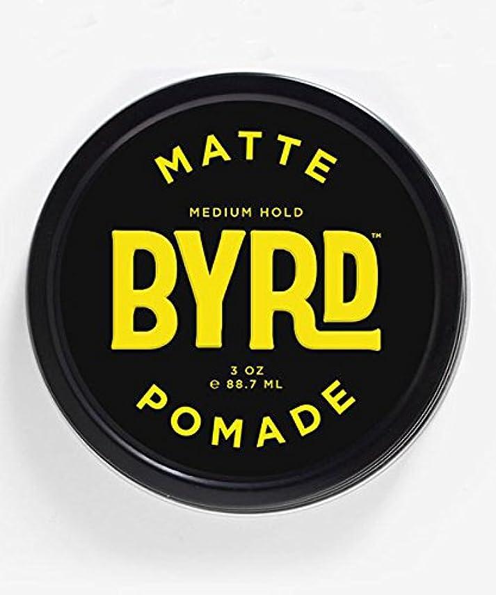 限られた起こりやすいしないでくださいBYRD(バード) マットポマード 85g