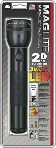 MAG-LITE(マグライト) 2Dセル(単1電池2本) LED フラッシュライト ブラック 単1電池×2本 ST2D016
