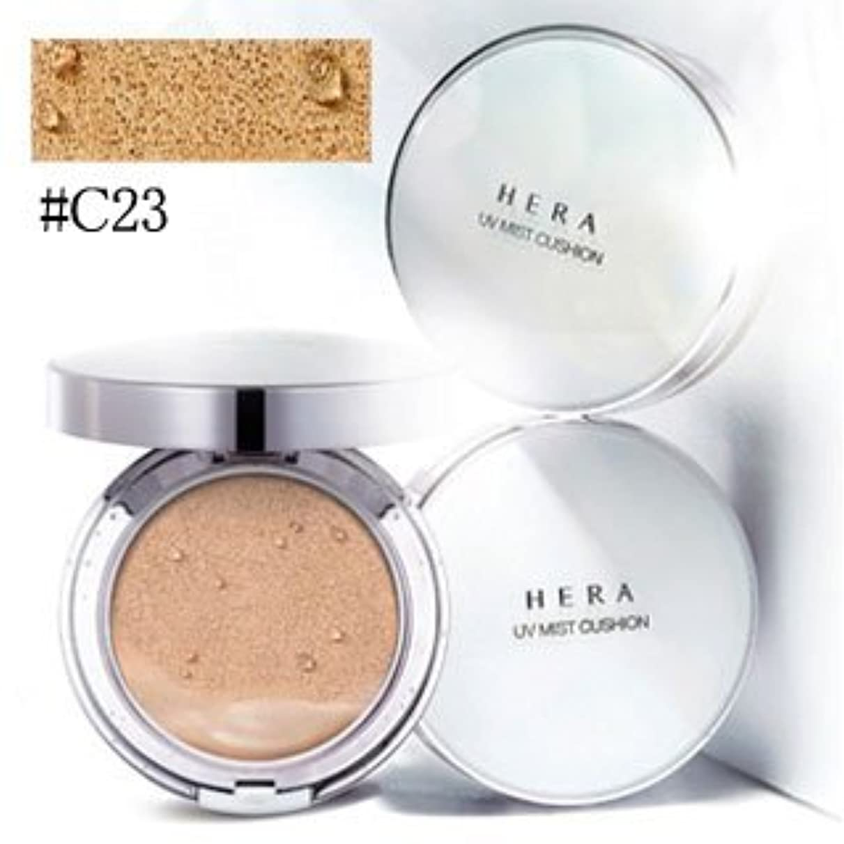 電子楽しい先例ヘラ(HERA) UV ミスト クッション #C23 COOL BEIGE COVER SPF 50+ / PA+++ 15g x 2[並行輸入品]