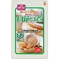 (まとめ)ホリカフーズ 介護食 おいしくミキサー(6)白花豆煮(12袋入) 567650【×3セット