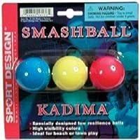 Sport Design Replacement Beach Balls for Beachball Smashball Kadima Watercolors (Set of three balls in Assorted colors ) by Sport Design [並行輸入品]