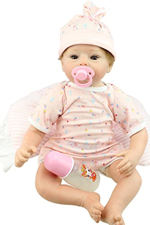 NPK COLLECTION 55CM リボーンドール ベビードール きせかえ人形 ドール プレゼント 誕生日プレゼント お人形 プレゼント