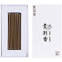 お香 善本堂天然の手作り線香 仏に供える用 空気浄化 エアクリア形 お線香ギフト (7cm 50本入)