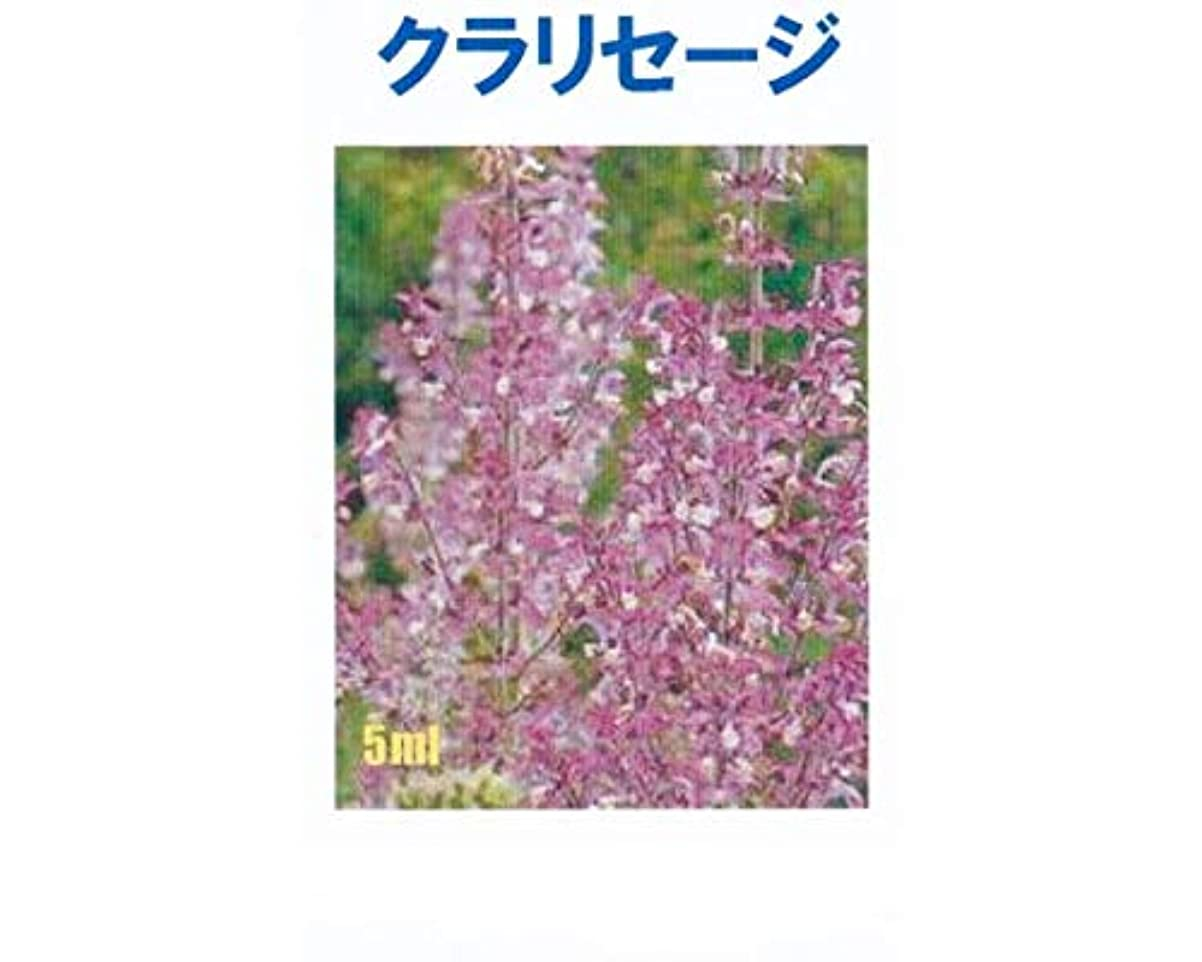 労働者優勢遊び場アロマオイル クラリセージ 5ml エッセンシャルオイル 100%天然成分