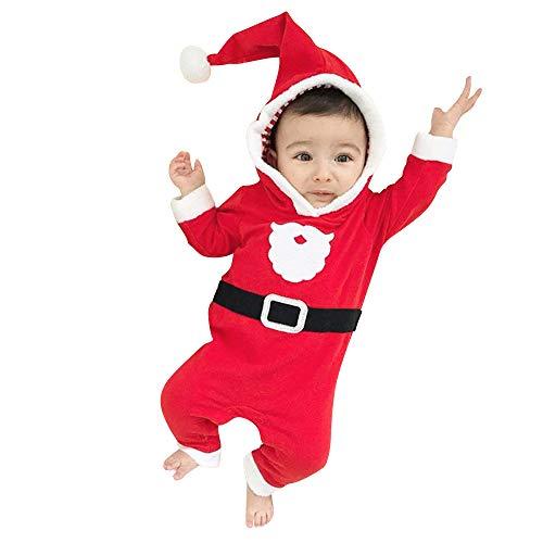 クリスマス仮装 Aliciga ロンパース 長袖 サンタさん...