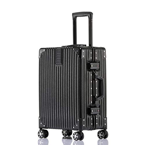 ビルガセ(Vilgazz) スーツケース アルミフレーム 軽...