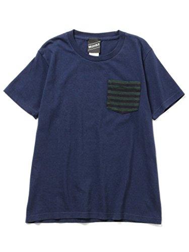 (ビームスティー) BEAMS T 【SPECIAL PRICE】BEAMS T/ボーダーポケット Tシャツ 11040530823 S NAVY
