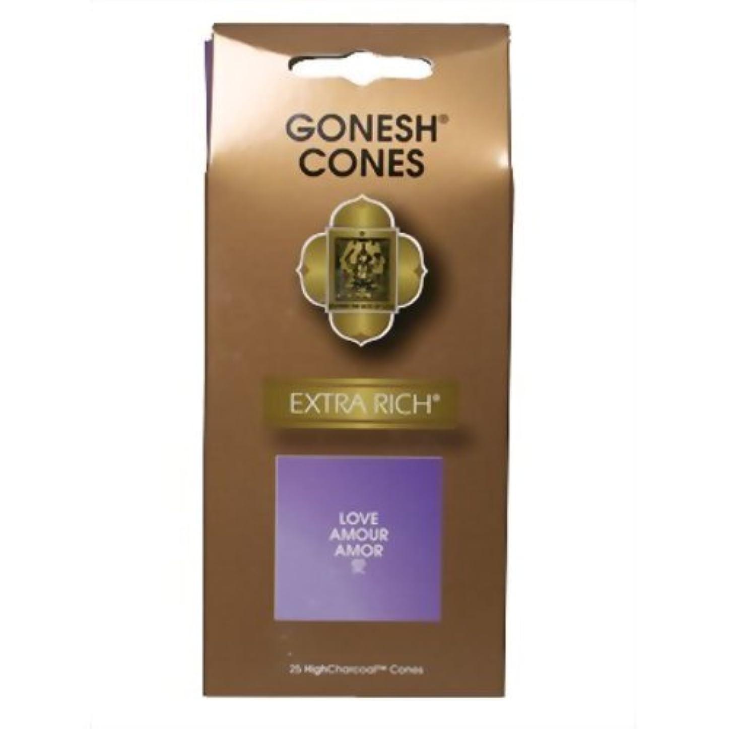 二次受け取る返還GONESH インセンスエクストラリッチ コーン ラブ