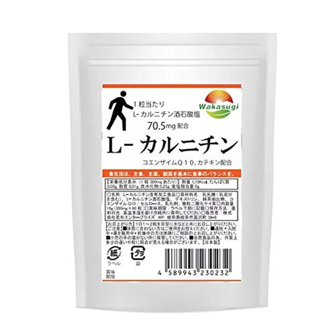 クラウン暖かさ健康的L-カルニチン 1袋 60粒