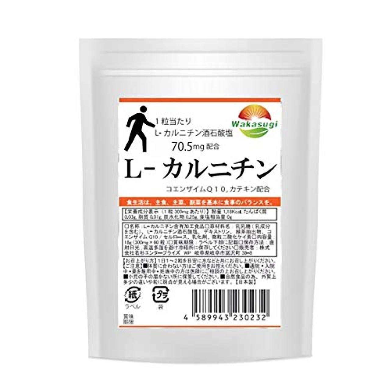 レシピ下線ヒューマニスティックL-カルニチン 1袋 60粒