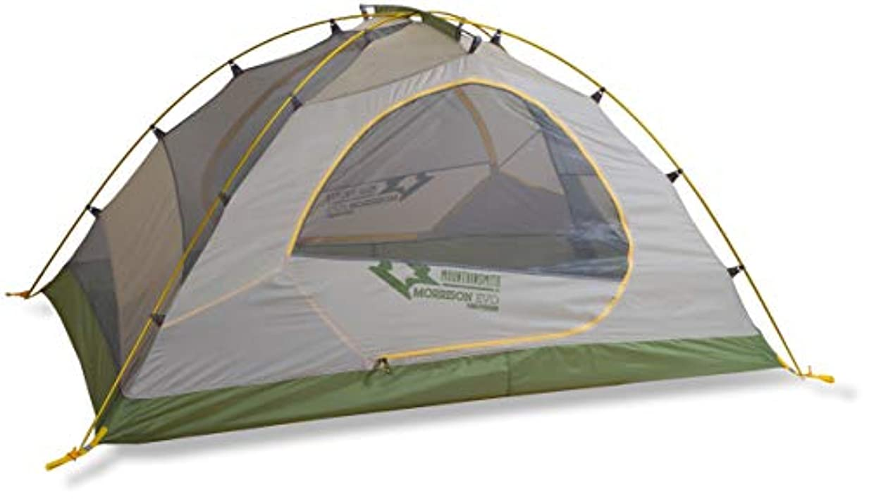 病な倍増クリップ蝶Mountainsmith Morrison EVO 2 Person 3 Season Tent, Cactus Green [並行輸入品]