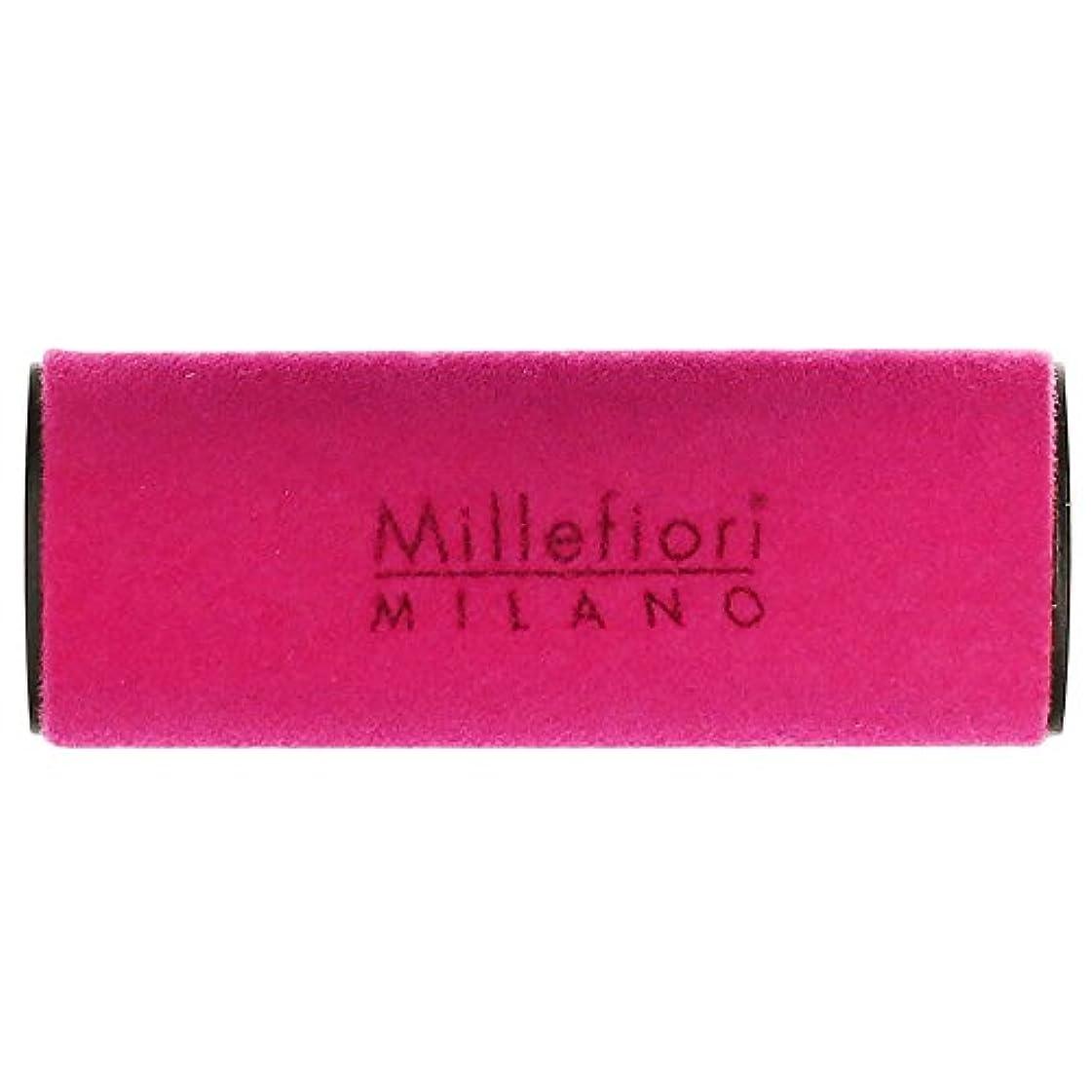 冷蔵庫支援するモードリンMillefiori MILANO ミッレフィオーリ カーエアフレッシュナー VELLUTO ヴェルート (グリーンティー) 1個