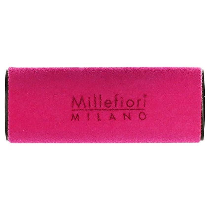オプションひそかに環境に優しいMillefiori MILANO ミッレフィオーリ カーエアフレッシュナー VELLUTO ヴェルート (グリーンティー) 1個