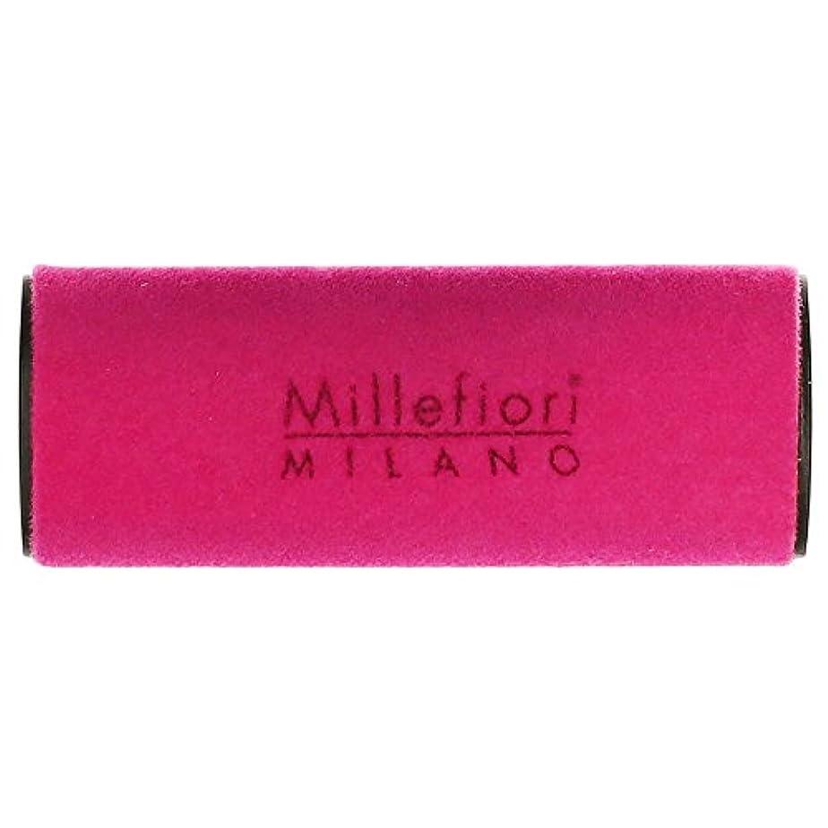 マージ証明王族Millefiori MILANO ミッレフィオーリ カーエアフレッシュナー VELLUTO ヴェルート (グリーンティー) 1個