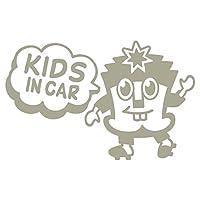 imoninn KIDS in car ステッカー 【パッケージ版】 No.65 ハーイさん (グレー色)
