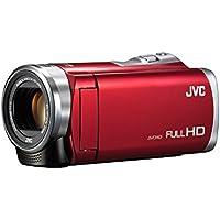 JVC Everio 8GB内蔵メモリー フルハイビジョンビデオカメラ GZ-E880 (単品, レッド(R))