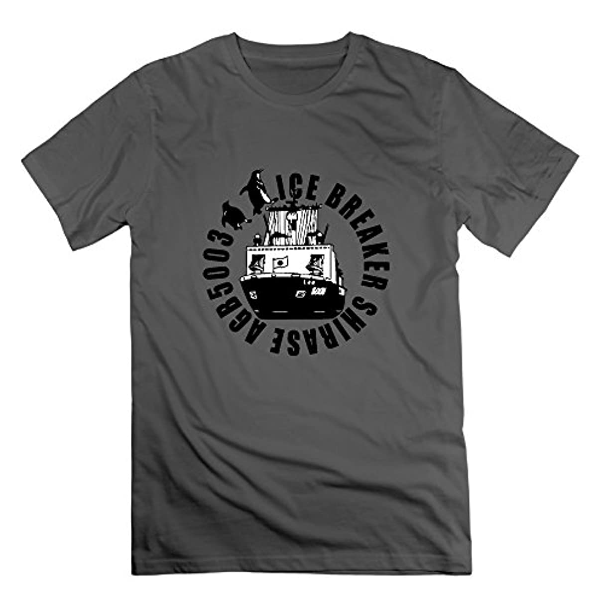 オピエート等文字Typhoon KAORI メンズ半袖Tシャツ 海上自衛隊グッズ アメカジアート 観測船 南極 ペンギン 航海 カジュアル創意 オリジナルカットソー カラー展開